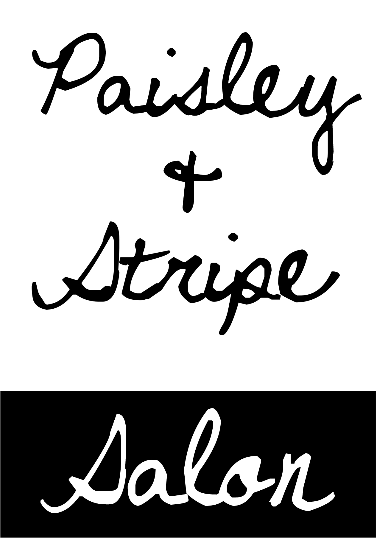 Paisley and Stripe salon